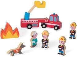 Janod - Speelwereld - Story Mini brandweer