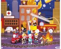 Janod - Speelwereld - Story Mini brandweer-2