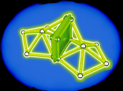 Geomag Color Glow 40 delig-2