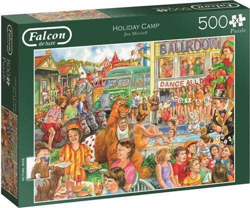 Jumbo puzzel Falcon Holiday Camp - 500 XL stukjes
