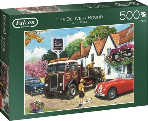 Jumbo puzzel Falcon The Delivery Round - 500 stukjes