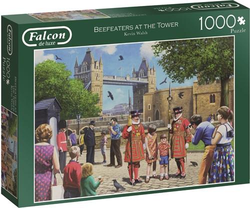 Jumbo puzzel Falcon Beefeaters at the Tower - 1000 stukjes