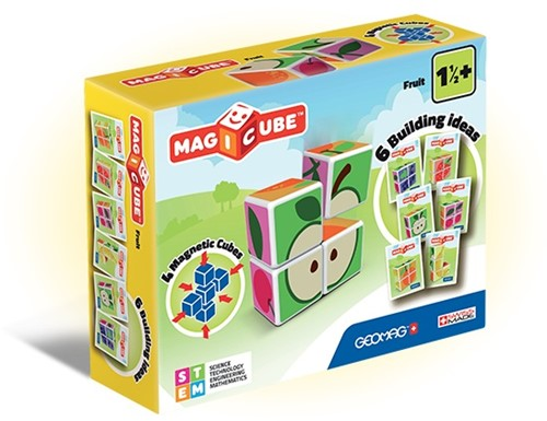 Geomag MagiCube Fruit - 4 delig