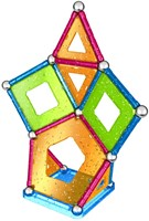 Geomag Panels Glitter 44 delig-2