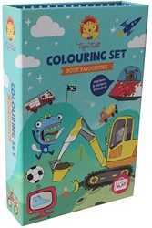 Tiger Tribe Colouring Sets - Adventures