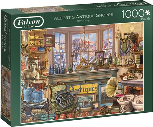 Jumbo puzzel Falcon Albert's Antique Shoppe - 1000 stukjes