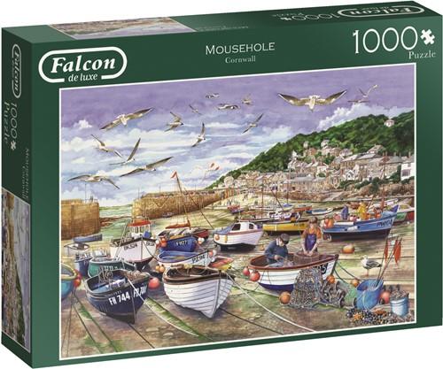 Jumbo puzzel Falcon Mousehole, Cornwall - 1000 stukjes