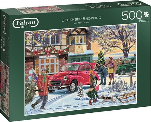 Jumbo puzzel Falcon December Shopping - 500 stukjes