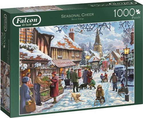 Jumbo puzzel Falcon Seasonal Cheer - 1000 stukjes