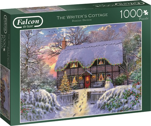 Jumbo puzzel Falcon The Writer's Cottage - 1000 stukjes