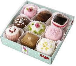 Haba  Biofino keuken accessoires Petit Rose - Petitfours, 9 stuks 3808