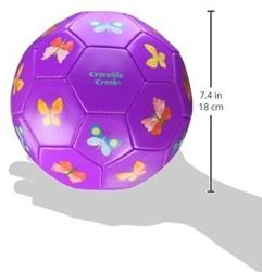 Crocodile Creek  buitenspeelgoed Soccer Ball/Butterflies - 18 cm