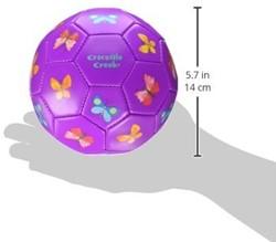Crocodile Creek  buitenspeelgoed Soccer Ball/Butterflies - Size 14 cm