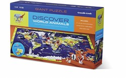 Crocodile Creek  legpuzzel Discover Puzzle/Europe - 100 stukjes