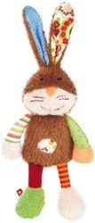 sigikid Patchwork Sweety knuffel konijn 38310