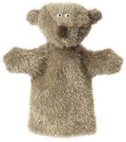 Sigikid  Beastown pluche knuffel Handpop Ach good - 29 cm-1