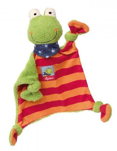 sigikid knuffeldoekje kikker Folunder Frog 38685