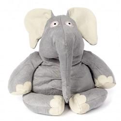 Sigikid - Beasttown - Knuffel pluche Nerdy Nerd elephant