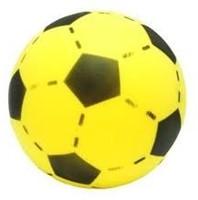 Planet Happy  buitenspeelgoed Foam voetbal geel 20 cm