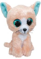 Lumo Stars Knuffeldier Lumo Cat Peach - Classic - 15cm