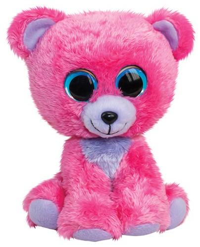 Lumo Stars Knuffeldier Lumo Bear Raspberry - Big - 24cm