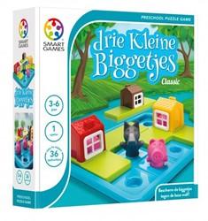 Smart Games  puzzelspel Drie kleine biggetjes deluxe