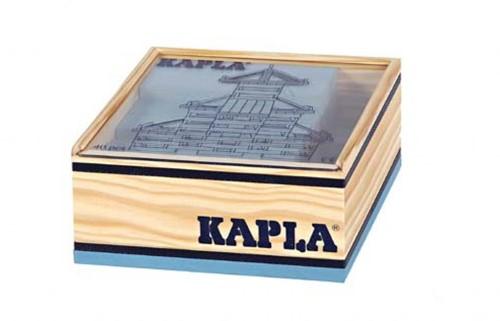 Kapla  houten bouwplankjes 40 lichtblauw-2