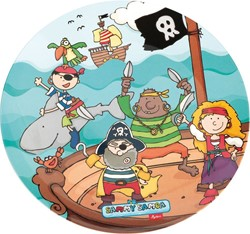 Sigikid  kinderservies Bord diep Sammy Samoa