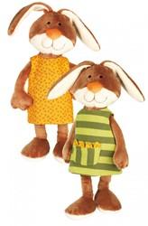 sigikid konijn with reversible dress 38327