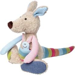 Sigikid  pluche knuffel Kangaroo Patchwork Sweety - 28 cm