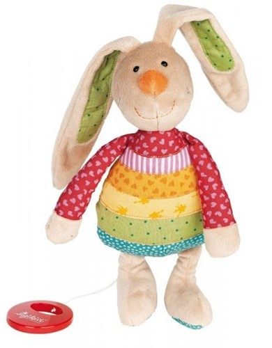 sigikid Muziekknuffel, Rainbow Rabbit 40577