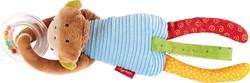 Sigikid  pluche knuffel Textille clip monkey - 26 cm