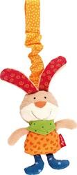 Sigikid  pluche knuffel Textile clip bunny - 13 cm