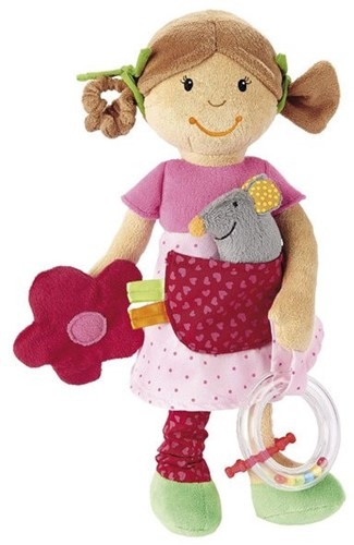 Sigikid knuffelpop Smart girl PlayQ-1