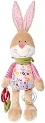 Sigikid  pluche knuffel Activity Bunny Bungee - 30 cm