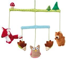 Sigikid - Babymobiel - Mobile Wald PlayQ Wuller Wullawoods