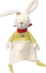 sigikid Green knuffeldoekje konijn 41794