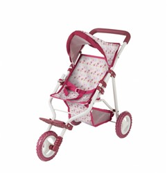 Götz accessoires 3-wheel buggy, happy flowers
