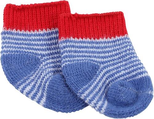 """Götz Shoes & Co, sokken """"""""Maritim blue"""""""", babypoppen 30-33 cm / 42-46 cm / 48 cm / staanpoppen 45-50 cm"""
