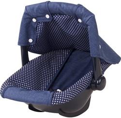 Götz accessoires Baby carriage, denim & spots