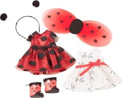 Götz accessoires Ensemble, ladybug, 6-pcs. - maat XS
