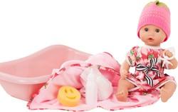 Götz babypop Sleepy Aquini girl, strawberry fields, 9-pcs. - maat S