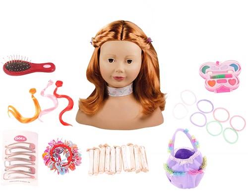 Götz pop Haarwerk, rot