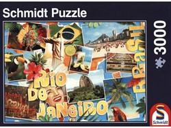 Schmidt  legpuzzel Rio de Janeiro,  - 3000 stukjes