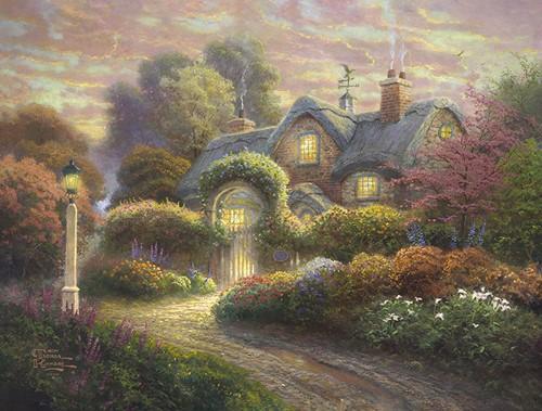 Schmidt legpuzzel Rosebud Cottage, 1000 stukjes
