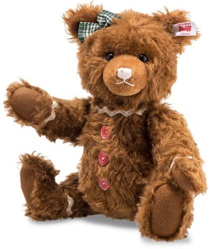 Steiff limited edition Ginger Bread Teddy bear, russetSteiff limited edition Ginger Bread Teddy bear, russet