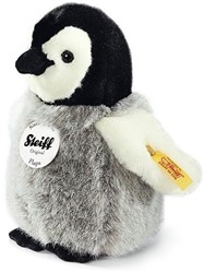 Steiff knuffel Flaps penguin, black/white/grey 16 CM