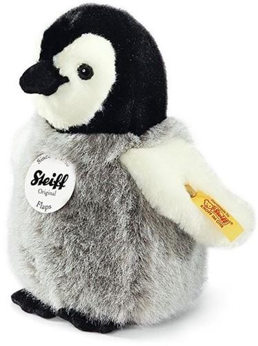Steiff Flaps penguin, black/white/grey