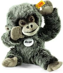 Steiff - Knuffels - Gora baby gorilla, grey tipped
