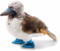 Steiff Booby blue-footed booby, white/grey/brown